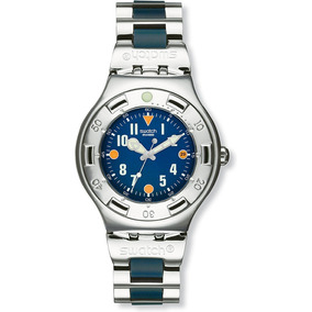 Relógio De Aço Swatch Scuba 200