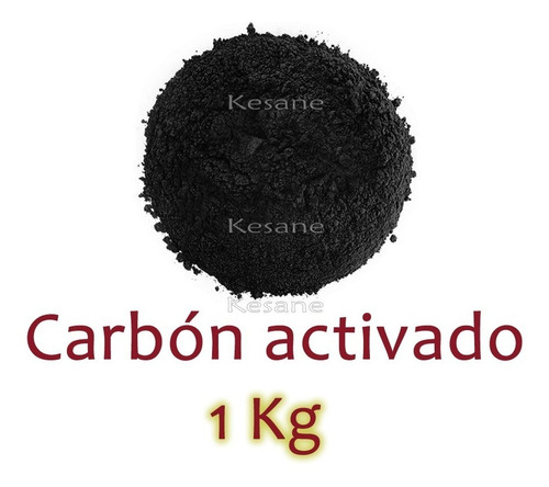Carbón Activado En Polvo 1 Kg Desintoxica Mascarillas