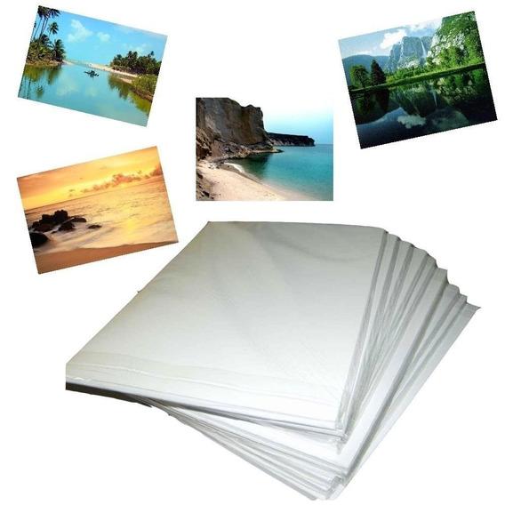 Papel Fotográfico Adesivo A4 Glossy 130gr M² 20 Fls