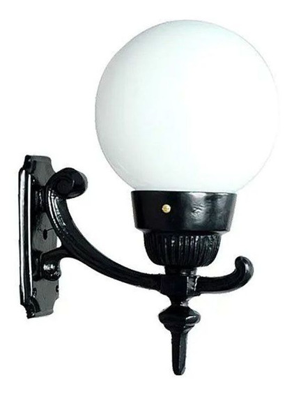 Luminária Pequena 3 Com Braço Externa/interna Alumínio 37cm