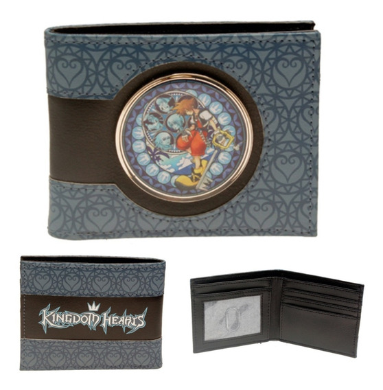 Cartera Kingdom Hearths Original Logo Disney Square Enix