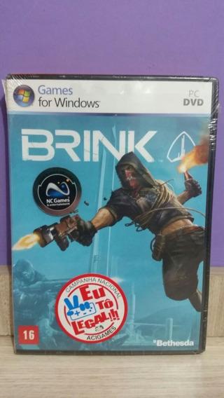 Brink Pc Game Original Lacrado