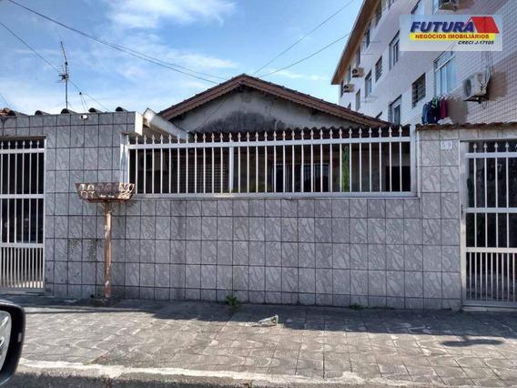 Casa Com 2 Dormitórios À Venda, 286 M² Por R$ 400.000,00 - Vila Melo - São Vicente/sp - Ca0397