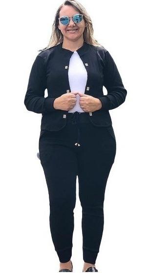 Conjunto Feminino Evangélico Blazer + Calça Todos Tamanhos