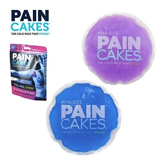 Mini Paincakes La Compresa Fría Que Se Pega Y Permanece En P