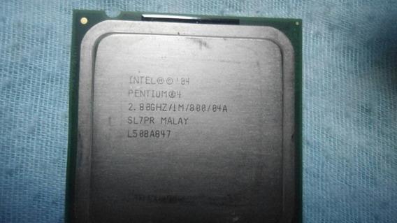 Intel Pentium 4 2.80/im/800/04 :sl7pr Malay /l508a847 Carta