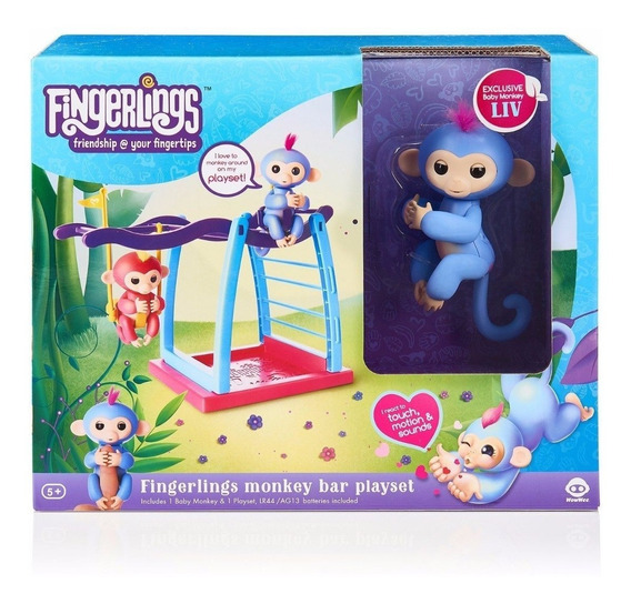 Fingerlings Parque/playset