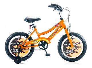 Bicicleta Futura Bmx 16 Twin Oversize Con Rueditas