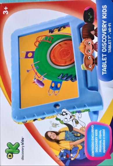 Tablet Multilaser Discovery Kids + Capinha (semi Novo)