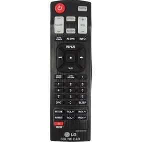 Controle Remoto Lg Sound Bar Akb73575422