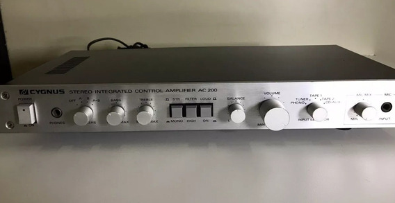 Amplificador Cygnus Ac-200 # Impecável