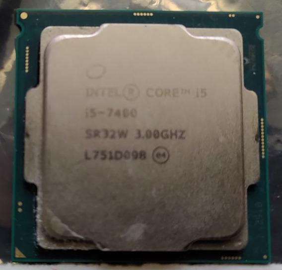 Processador I5 7400 Lga 1151 7a Geração 3.0 Ghz Com Defeito.