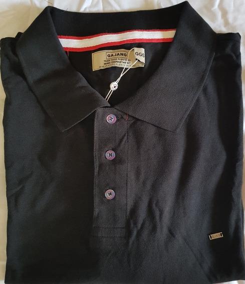 Camisa Polo Gajang - Plus Size Gg5