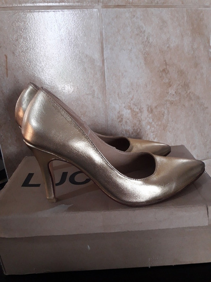 Stilettos Zapatos Cuero 100%
