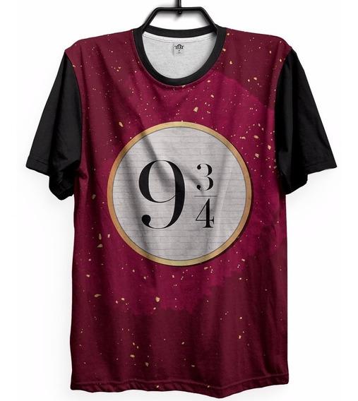 Camiseta Hermione Geek Personalizada Plataforma 9 3/4