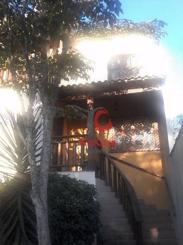 Casa Duplex Com 5 Quartos Sendo 2 Suítes Á Venda, 220m² Por R$710.000 - Colinas - Rio Das Ostras/rj - Ca0768