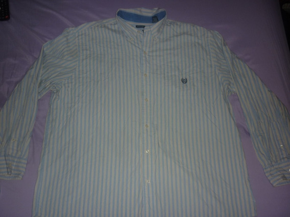 L Camisa Chaps Ralph Lauren Talle Xxl Celeste Art 68871