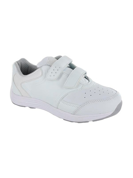 Tenis Para Niña Doble Velcro Coqueta Mod Hule Blanco T22-24