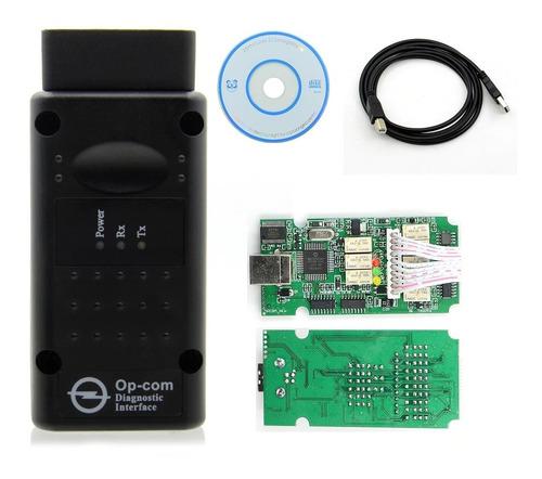 Imagen 1 de 6 de Escaner Op-com Opel Chevy - Zafira - Meriva - Corsa - Astra