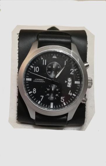 Reloj Sinobi Modelo Pilot Cronógrafo - Oferta!