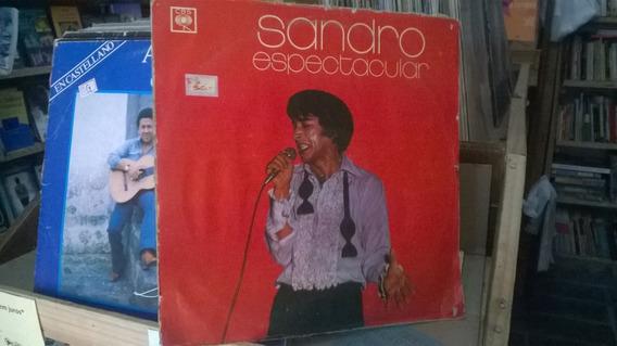 Lp Sandro Espetacular Cbs Ano 1975