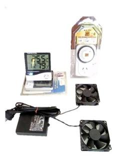 Indoor Kit Ventilacion Completo Grow Con Timmer 220v Directo