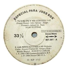 Julio Iglesias Compacto Juke Box 1985 Roberto Carlos Dominó