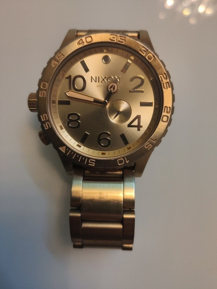 Relógio Nixon Dourado 5130 Original! Seminovo! Negocio!