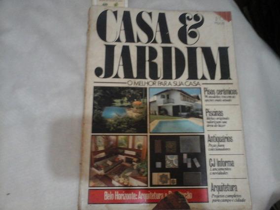 Revista Casa & Jardim 1985