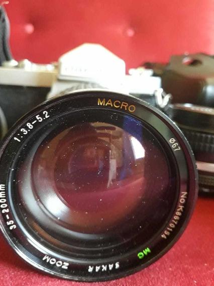 Câmera Nikon Motor Drive Md4 Praticamente Sem Uso