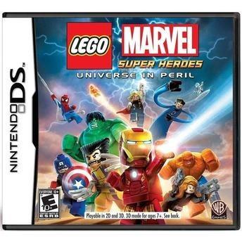 Frete Grátis Lego Marvel Super Heroes Ds
