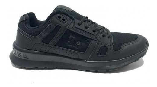 Tênis Dc Shoes Stag Lite Black/black Preto