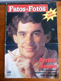 Revista Fatos E Fotos - Ayrton Senna