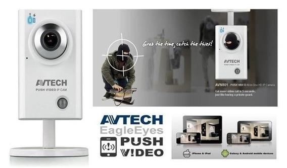 Camara Ip Avtech Av701 Con Fuente 5v 2a
