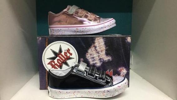Zapatillas Para Nena, Metalizadas,ultimo Modelo- 27-34 Urban