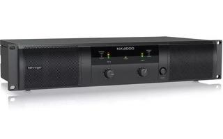 Behringer Nx3000 Potencia Digital 3000w Crossover Estéreo