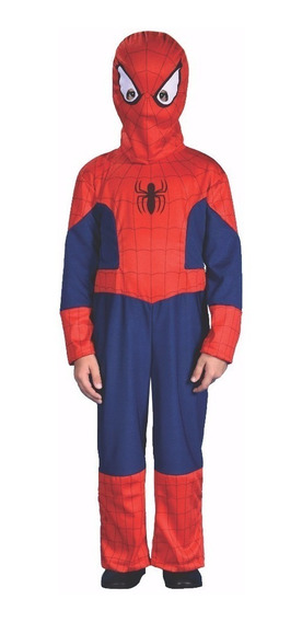 Disfraz Spiderman Marvel Con Luz Niño 100% Original Roi Baby