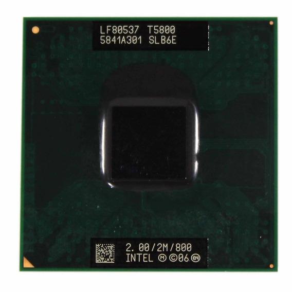 Processador Intel Core 2 Duo T5800 2m 2.00ghz (11275)