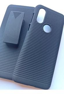 Capinha Belt Clip Motorola Moto One Vision 6.3 C/ Suporte