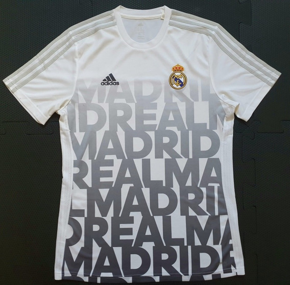 Camisa Real Madrid 2015/2016 Pre Match - G adidas Ac6507