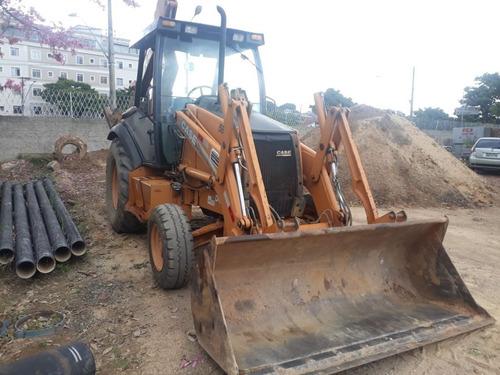 Imagem 1 de 10 de Retroescavadeira Case 580m 2008