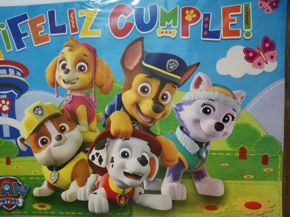 Cotillón Paw Patrol, Patrulla Canina 30 Chicos,piñata,carte