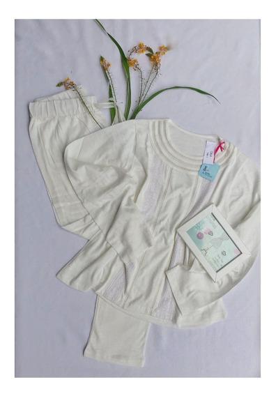 Pijama De Mujer Algodon Con Pasamanerias-envio Gratis!