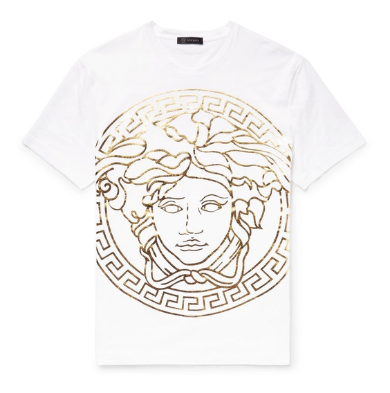 Playera Versace Medusa Original No Gucci Louis Vuitton