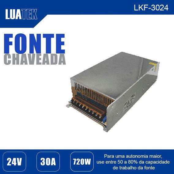 Kit 4 Fonte Chaveada Ac/dc 24v 30a Potência 720w 100v-240v
