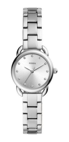 Relógio Fossil Feminino Tailor Mini Prata Es4496/1kn