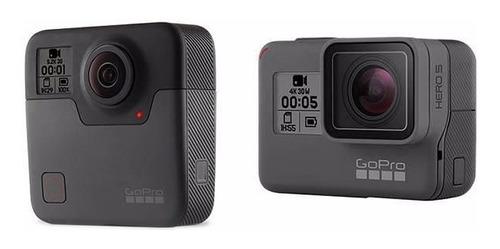 Go Pro Fusion 360 + Go Pro 6 Black - Combo Vlog Waterproof