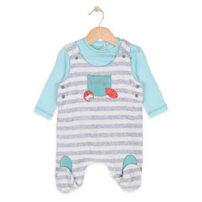 Pillin Osito Polera Plush Bebé Niña - Po328cel