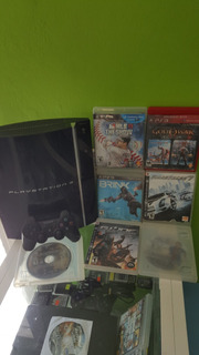 Playstation 3 - 60 Gb + Control Cables Y 7 Juegos Originales