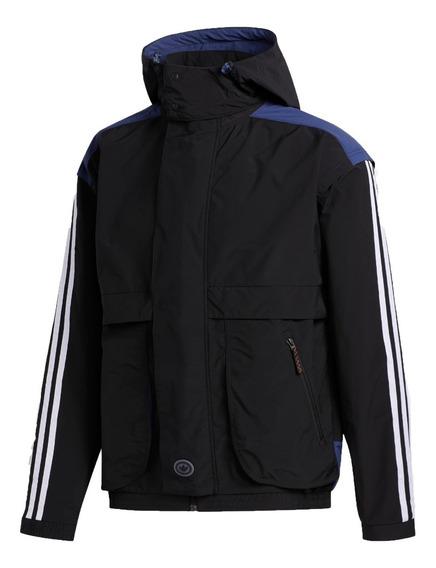 adidas Originals Campera C/capucha Blackrock Hombre Negrofkr